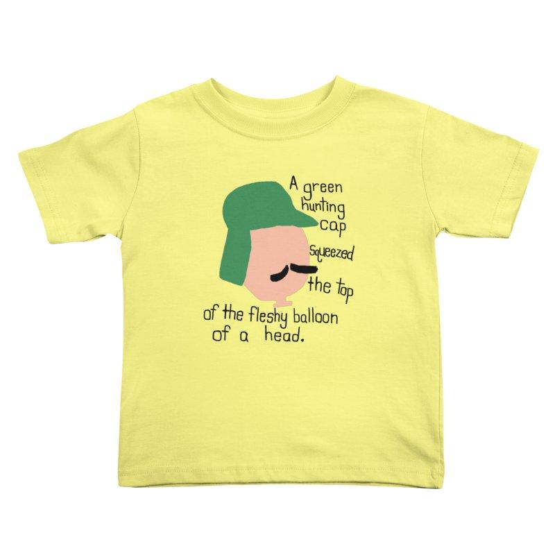 Iggy Balloon Head Kids Toddler T-Shirt by NOLA 'Nacular's Shop