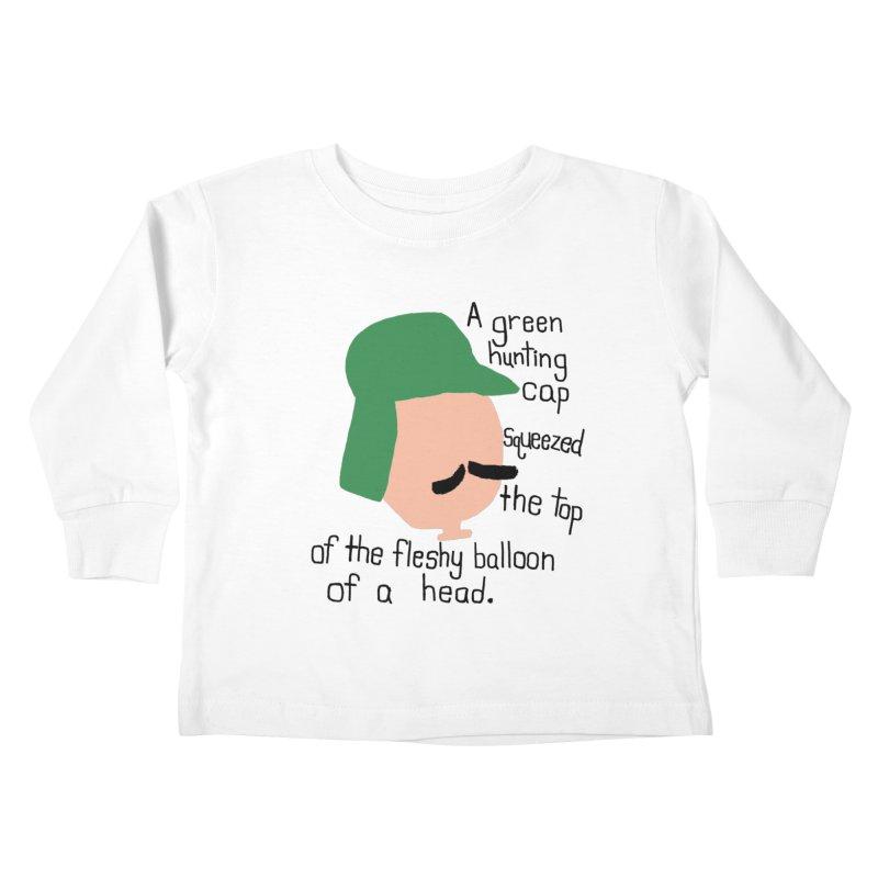 Iggy Balloon Head Kids Toddler Longsleeve T-Shirt by NOLA 'Nacular's Shop