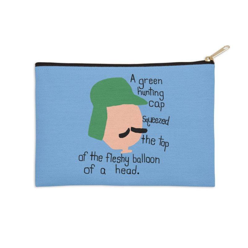 Iggy Balloon Head Accessories Zip Pouch by NOLA 'Nacular's Shop