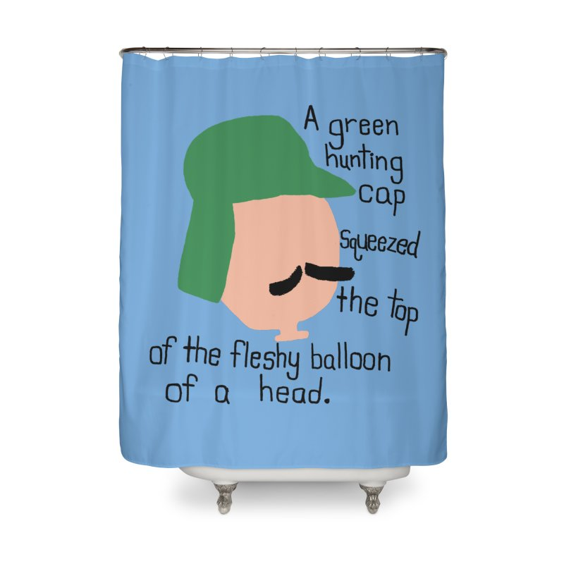 Iggy Balloon Head Home Shower Curtain by NOLA 'Nacular's Shop