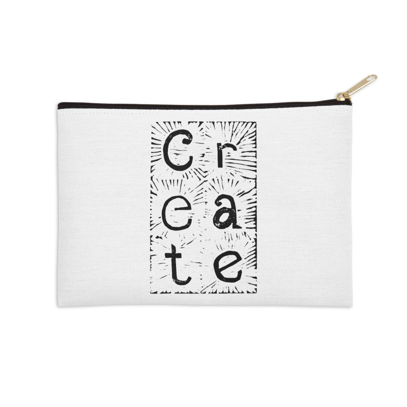 CREATE Accessories Zip Pouch by NOLA 'Nacular's Shop