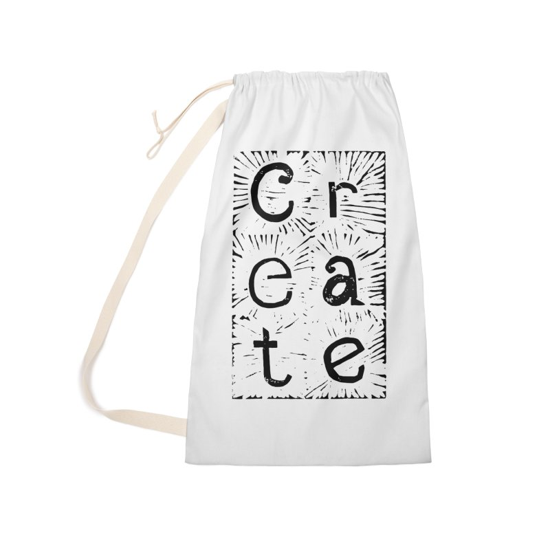CREATE Accessories Laundry Bag Bag by NOLA 'Nacular's Shop