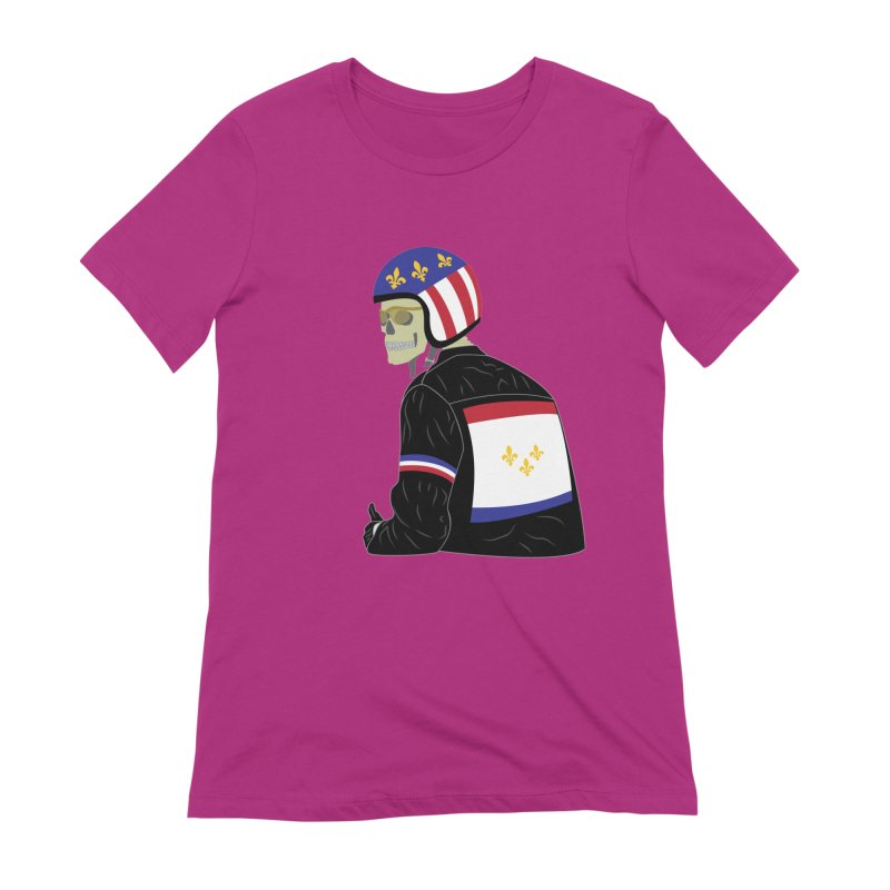 Big Easy Rider Women's Extra Soft T-Shirt by NOLA 'Nacular's Shop
