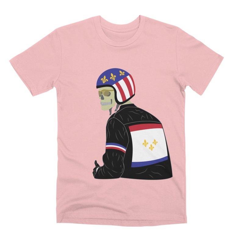 Big Easy Rider Men's Premium T-Shirt by NOLA 'Nacular's Shop