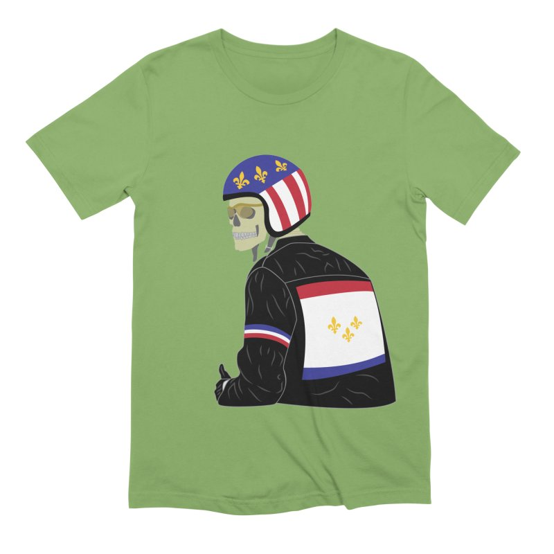 Big Easy Rider Men's Extra Soft T-Shirt by NOLA 'Nacular's Shop