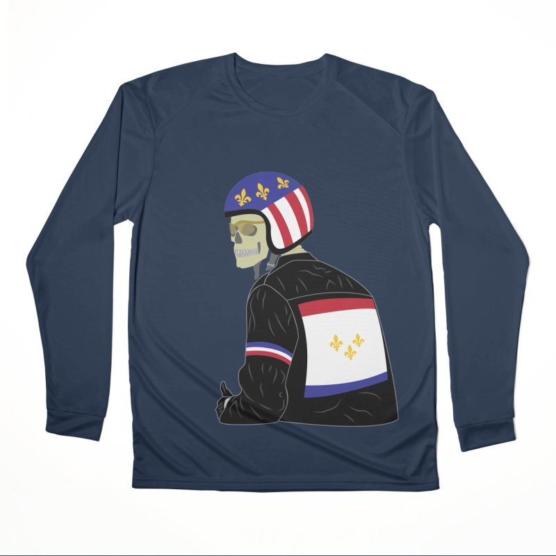 Big Easy Rider Men's Performance Longsleeve T-Shirt by NOLA 'Nacular's Shop