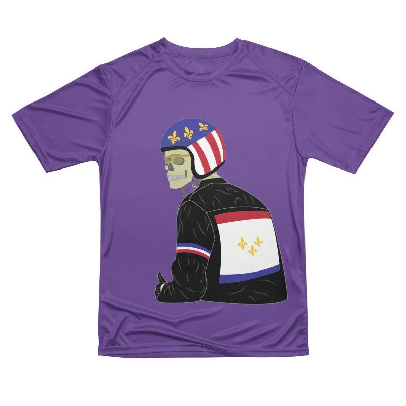 Big Easy Rider Women's Performance Unisex T-Shirt by NOLA 'Nacular's Shop
