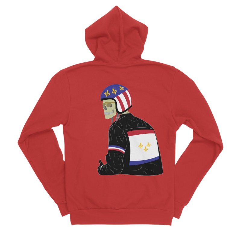 Big Easy Rider Women's Zip-Up Hoody by NOLA 'Nacular's Shop