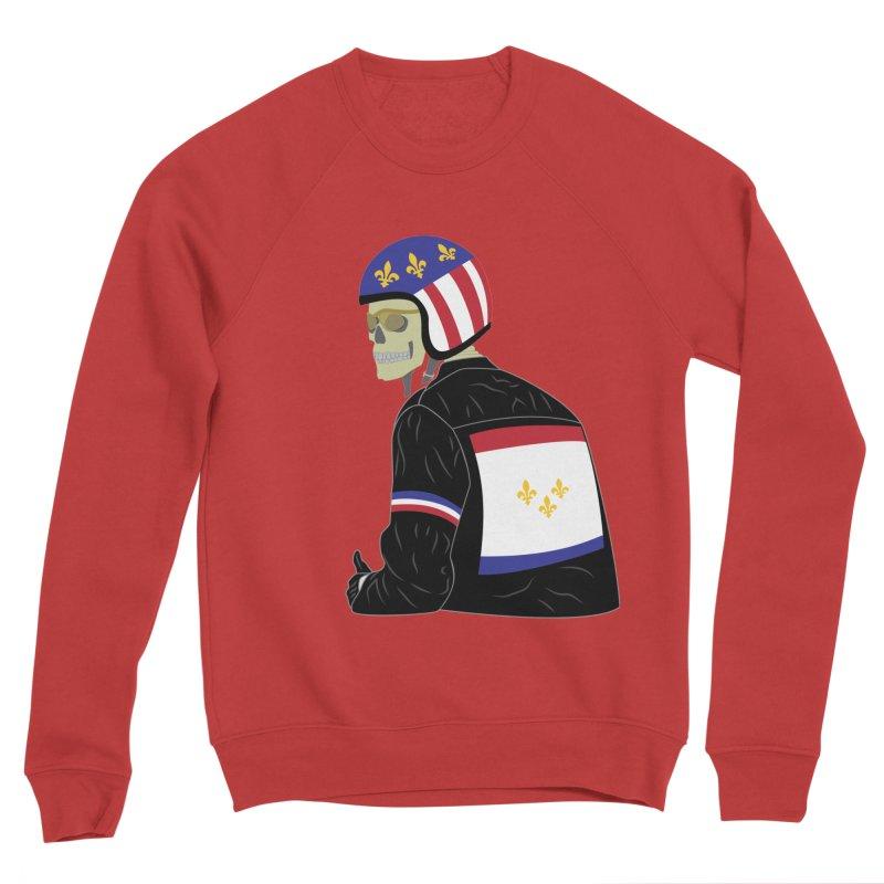 Big Easy Rider Men's Sponge Fleece Sweatshirt by NOLA 'Nacular's Shop