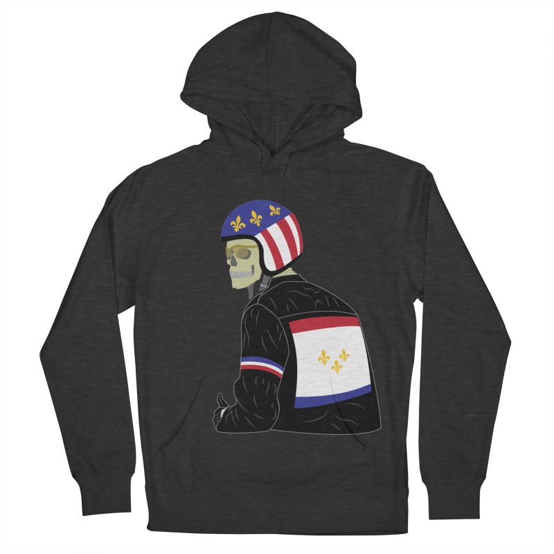 Big Easy Rider Women's French Terry Pullover Hoody by NOLA 'Nacular's Shop