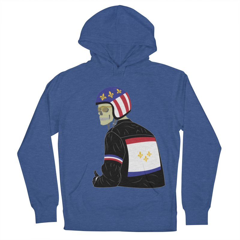 Big Easy Rider Men's French Terry Pullover Hoody by NOLA 'Nacular's Shop