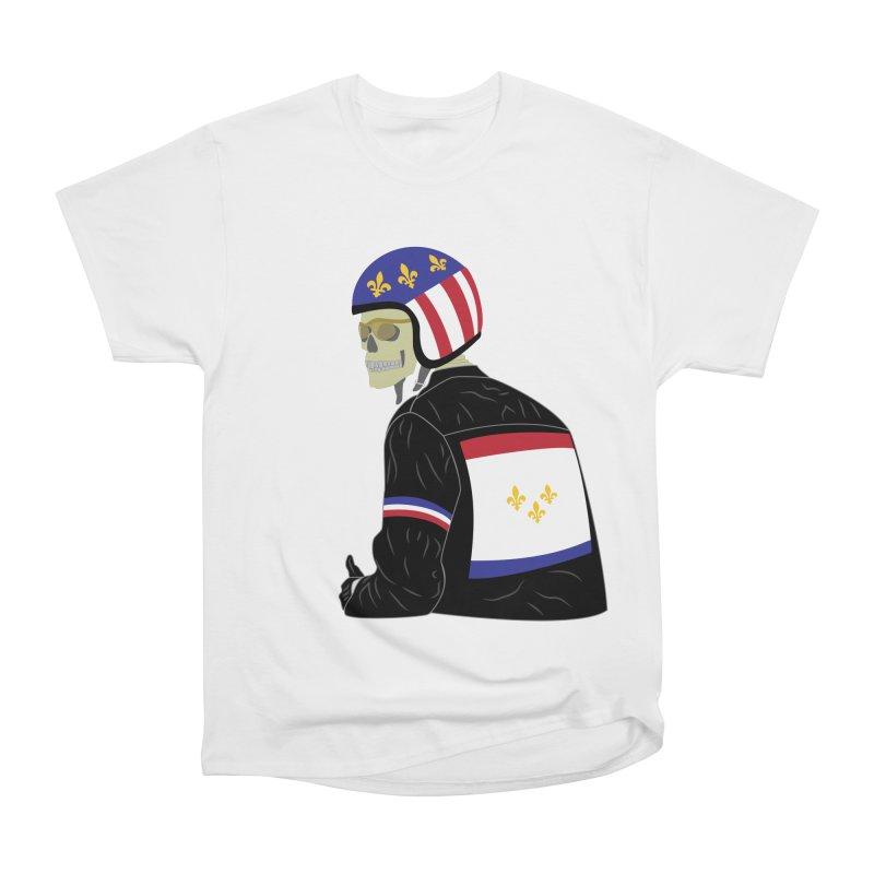 Big Easy Rider Women's Heavyweight Unisex T-Shirt by NOLA 'Nacular's Shop