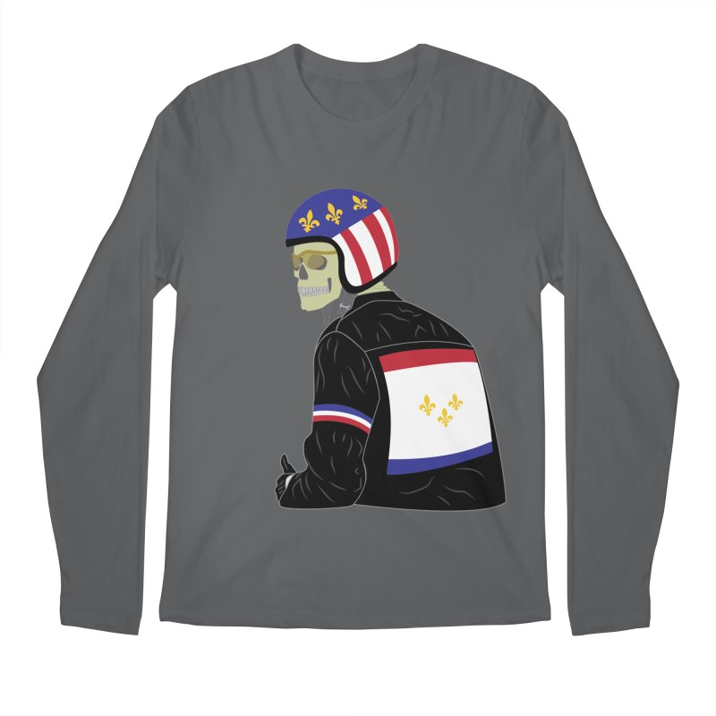 Big Easy Rider Loose Fit Longsleeve T-Shirt by NOLA 'Nacular's Shop