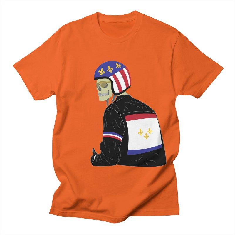 Big Easy Rider Men's Regular T-Shirt by NOLA 'Nacular's Shop