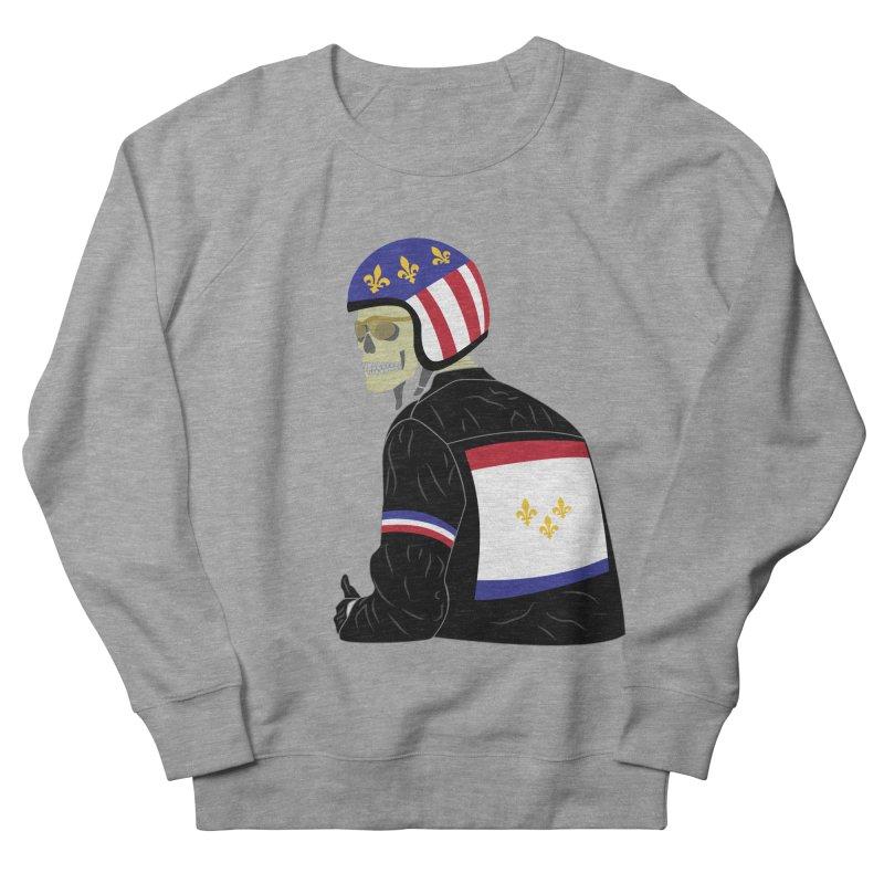 Big Easy Rider Women's French Terry Sweatshirt by NOLA 'Nacular's Shop