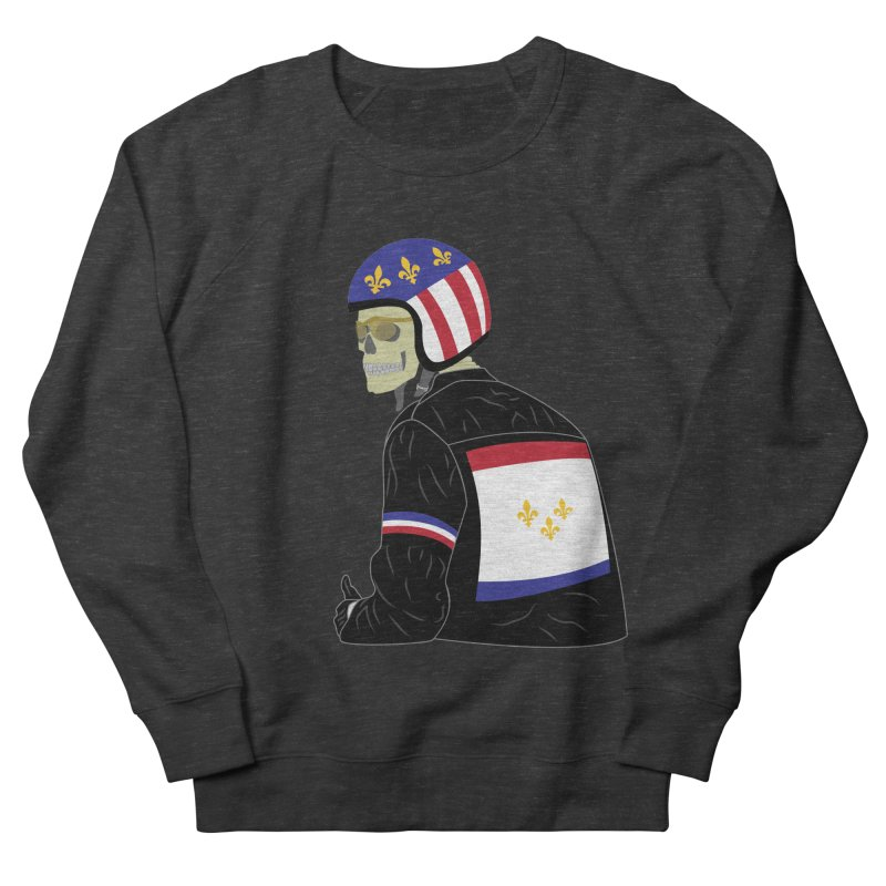 Big Easy Rider Men's French Terry Sweatshirt by NOLA 'Nacular's Shop