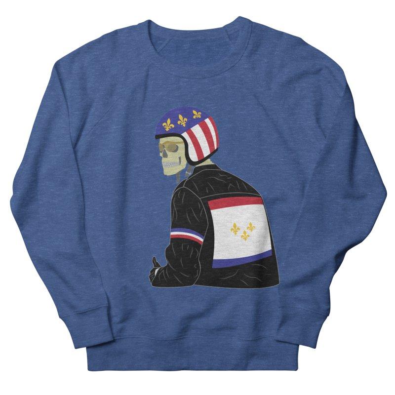 Big Easy Rider Men's French Terry Sweatshirt by NOLA 'Nacular's Shop