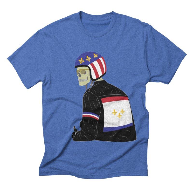 Big Easy Rider Men's Triblend T-Shirt by NOLA 'Nacular's Shop