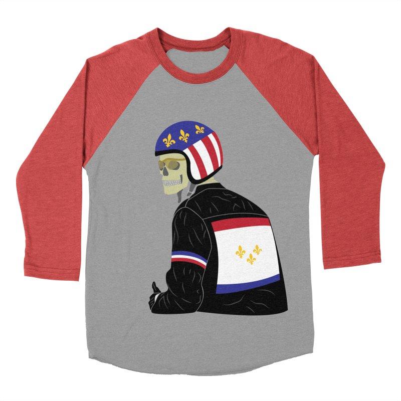 Big Easy Rider Women's Baseball Triblend Longsleeve T-Shirt by NOLA 'Nacular's Shop