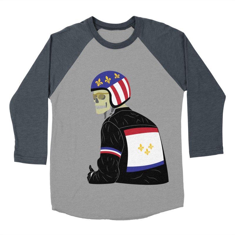 Big Easy Rider Men's Baseball Triblend Longsleeve T-Shirt by NOLA 'Nacular's Shop