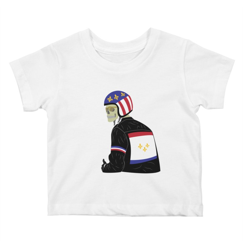 Big Easy Rider Kids Baby T-Shirt by NOLA 'Nacular's Shop