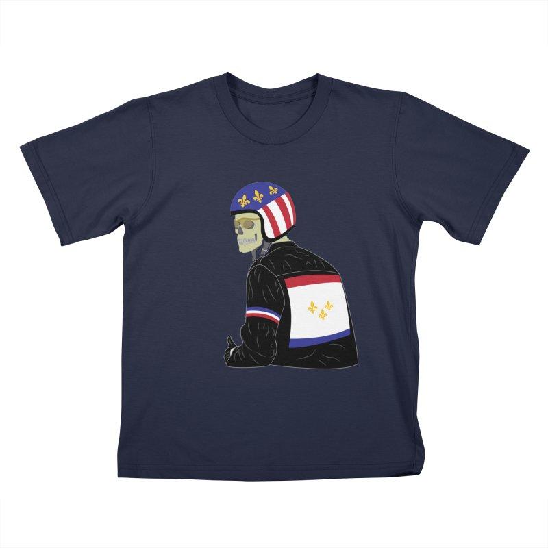 Big Easy Rider Kids T-Shirt by NOLA 'Nacular's Shop