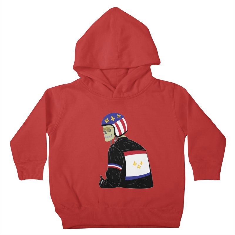 Big Easy Rider Kids Toddler Pullover Hoody by NOLA 'Nacular's Shop