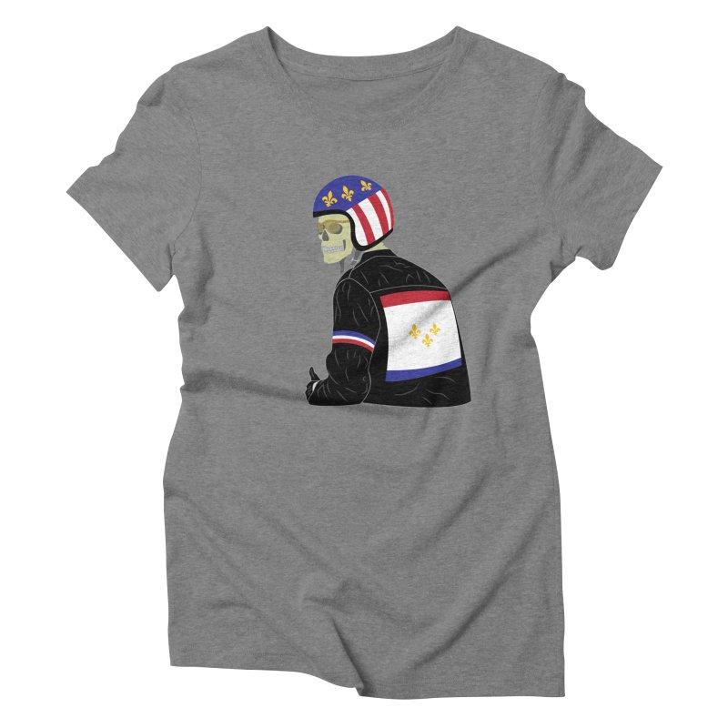 Big Easy Rider Women's Triblend T-Shirt by NOLA 'Nacular's Shop