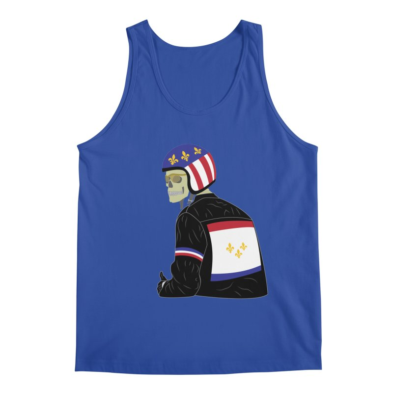 Big Easy Rider Men's Regular Tank by NOLA 'Nacular's Shop