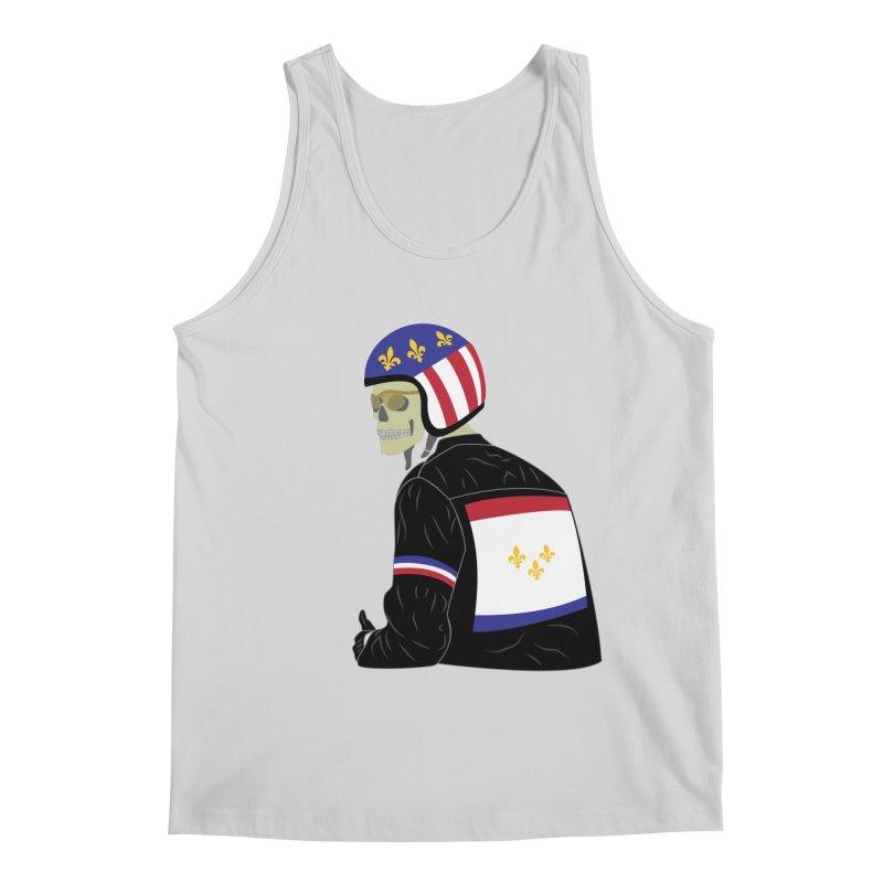 Big Easy Rider Men's Regular Tank by NOLA 'Nacular's Shop