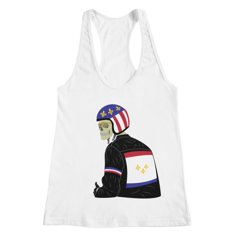 Big Easy Rider Women's Racerback Tank by NOLA 'Nacular's Shop