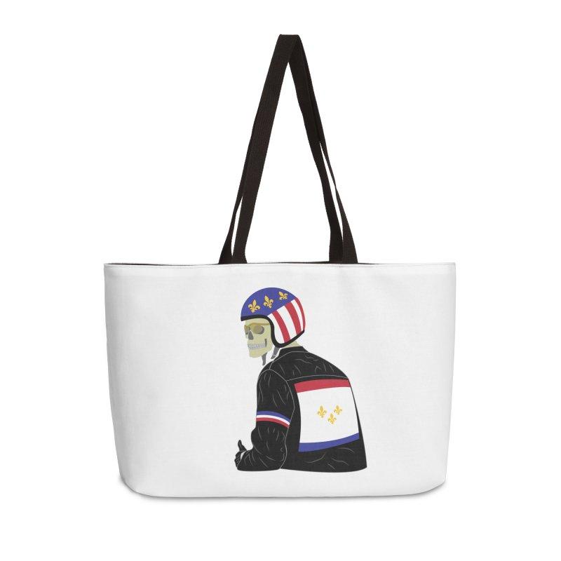 Big Easy Rider Accessories Weekender Bag Bag by NOLA 'Nacular's Shop