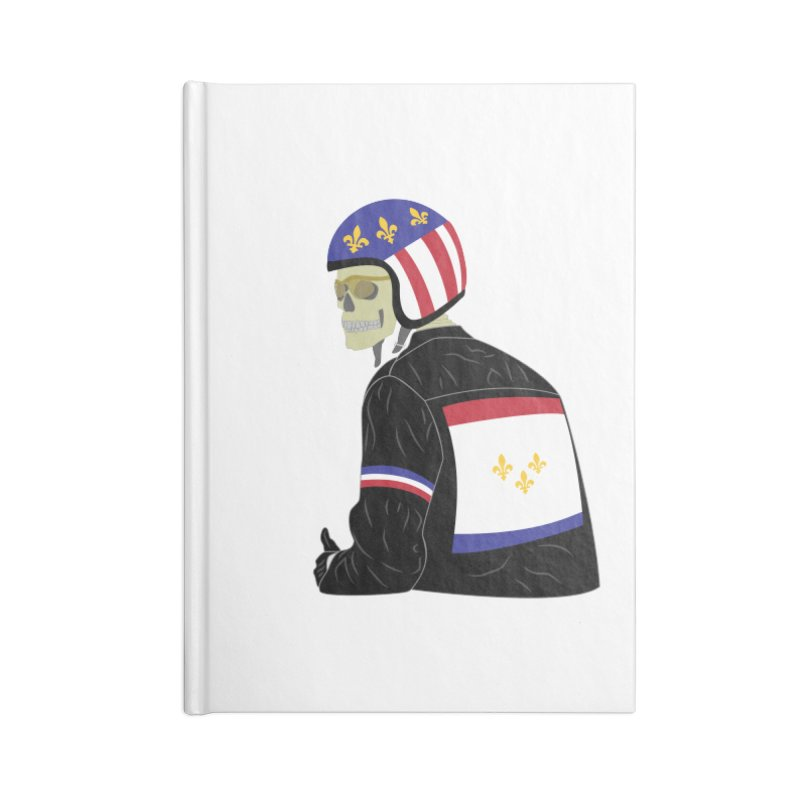 Big Easy Rider Accessories Blank Journal Notebook by NOLA 'Nacular's Shop
