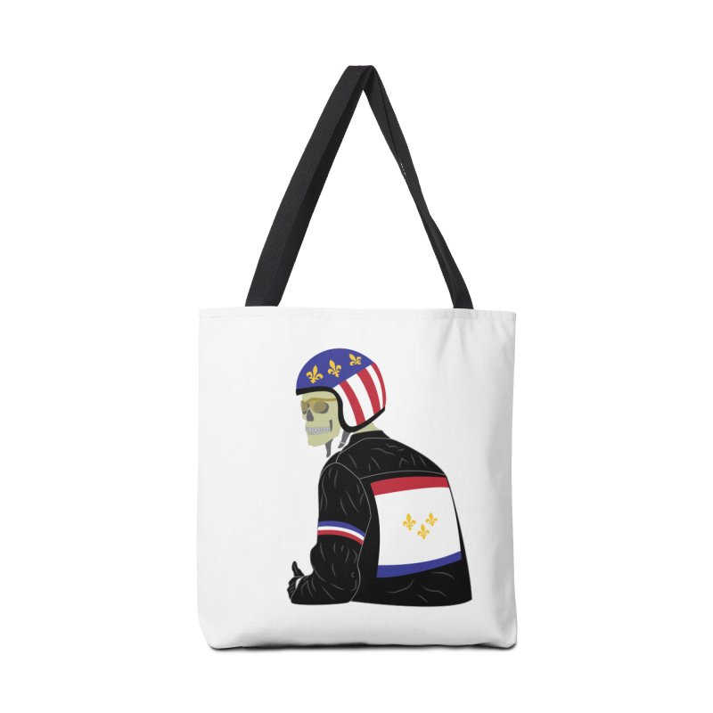 Big Easy Rider Accessories Tote Bag Bag by NOLA 'Nacular's Shop