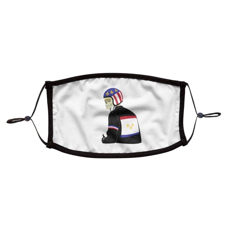 Big Easy Rider Accessories Face Mask by NOLA 'Nacular's Shop