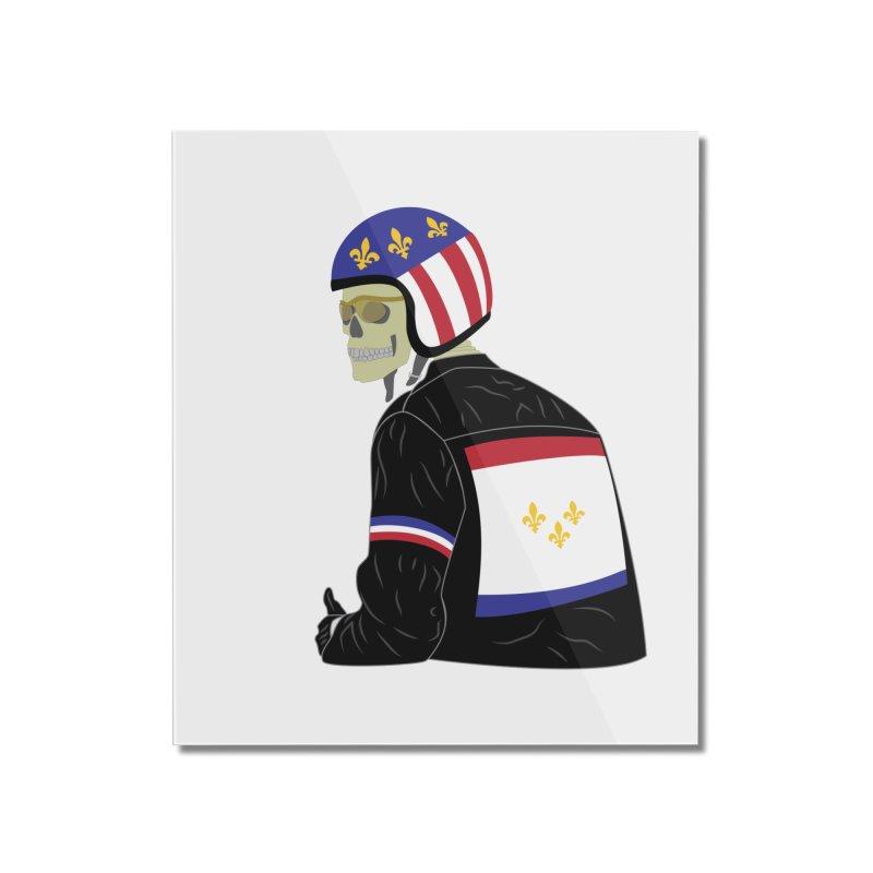 Big Easy Rider Home Mounted Acrylic Print by NOLA 'Nacular's Shop