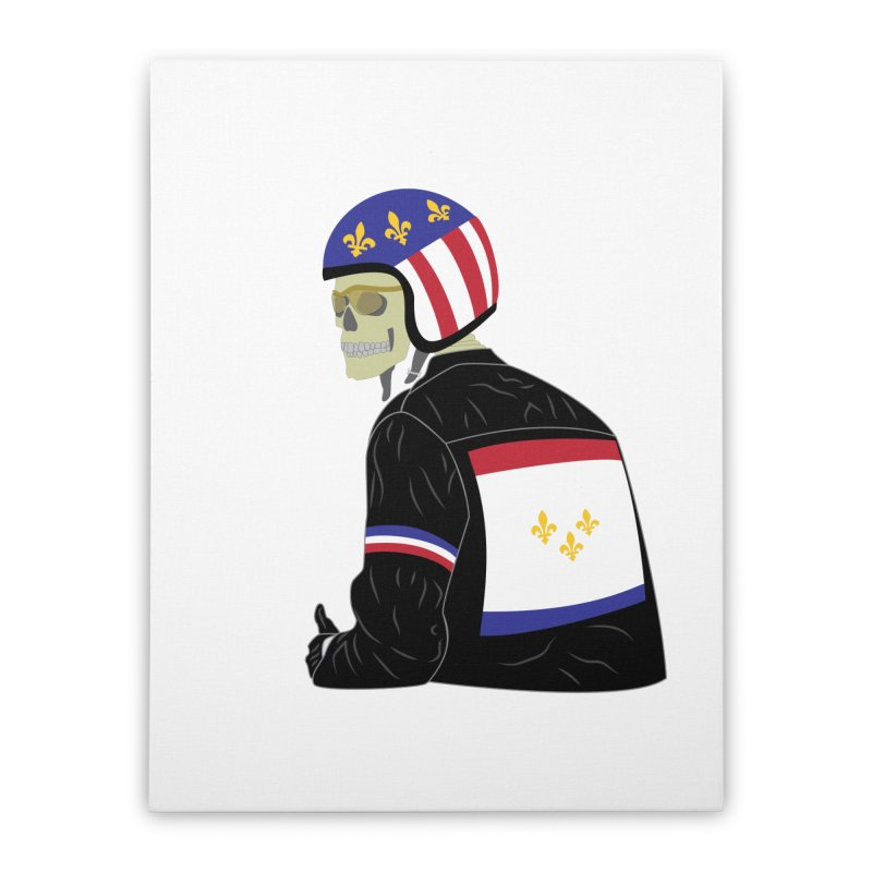 Big Easy Rider Home Stretched Canvas by NOLA 'Nacular's Shop