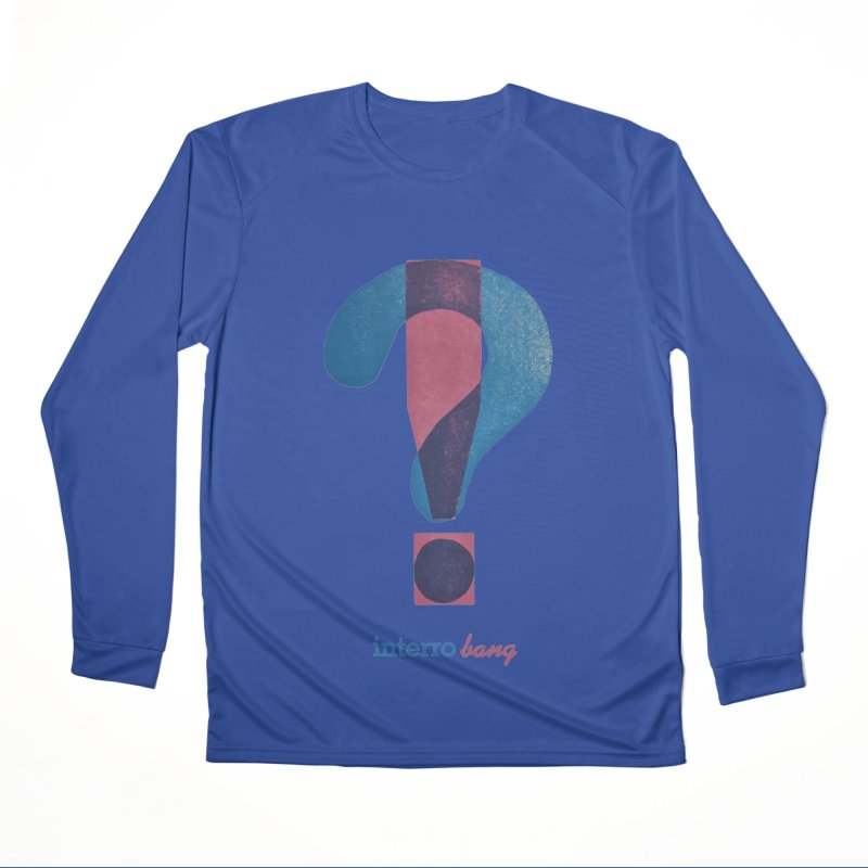 interro bang Men's Performance Longsleeve T-Shirt by NOLA 'Nacular's Shop