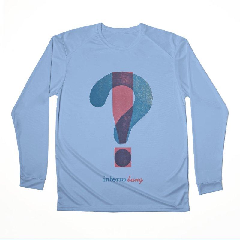 interro bang Fitted Longsleeve T-Shirt by NOLA 'Nacular's Shop