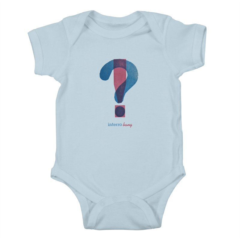 interro bang Kids Baby Bodysuit by NOLA 'Nacular's Shop