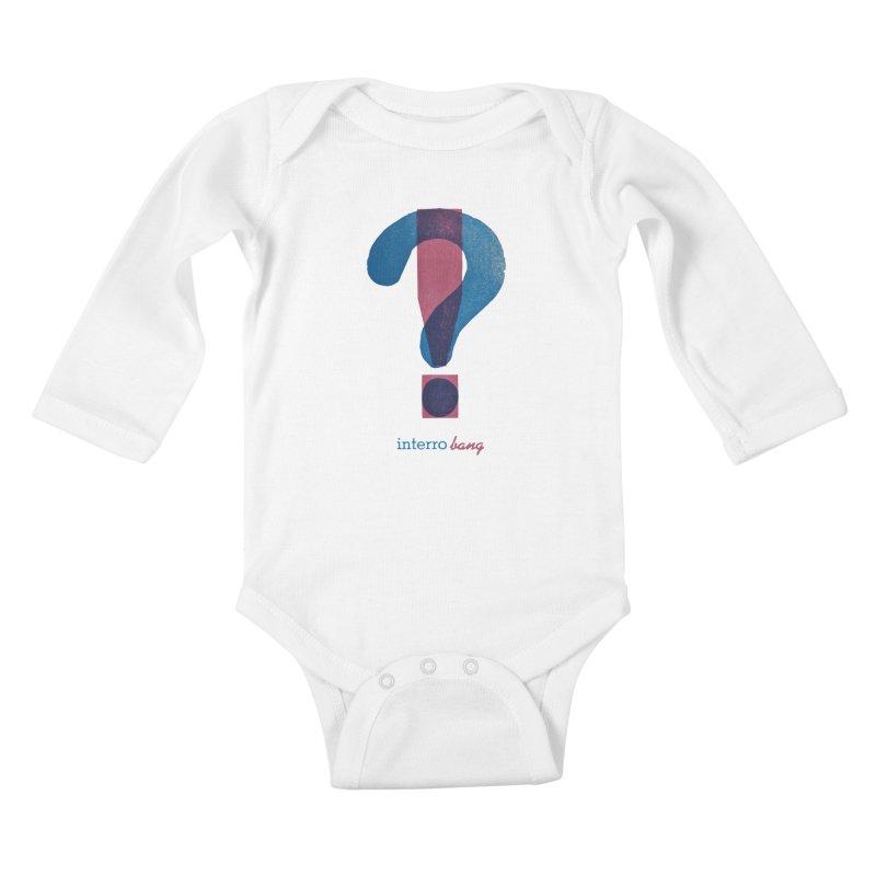interro bang Kids Baby Longsleeve Bodysuit by NOLA 'Nacular's Shop