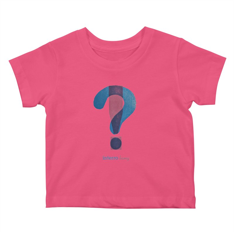 interro bang Kids Baby T-Shirt by NOLA 'Nacular's Shop