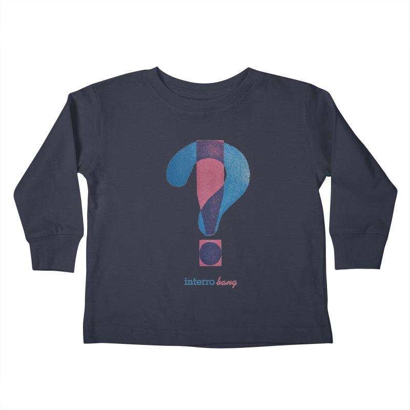interro bang Kids Toddler Longsleeve T-Shirt by NOLA 'Nacular's Shop