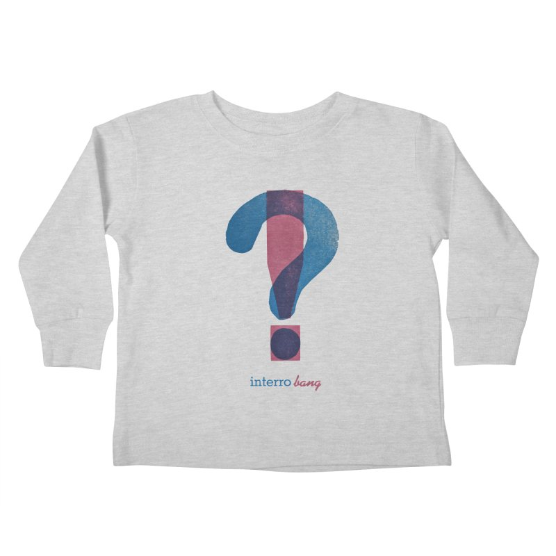 interro bang Kids Toddler Longsleeve T-Shirt by NOLA 'Nacular's Shop