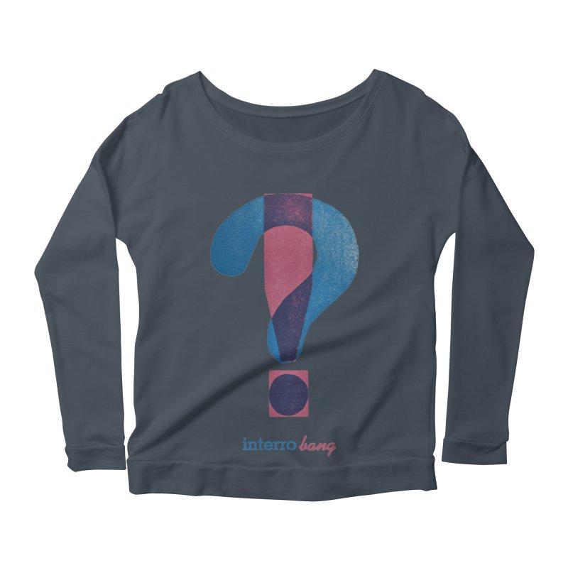 interro bang Women's Scoop Neck Longsleeve T-Shirt by NOLA 'Nacular's Shop