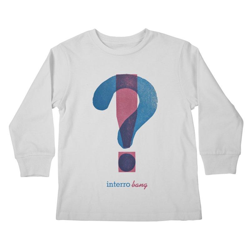 interro bang Kids Longsleeve T-Shirt by NOLA 'Nacular's Shop