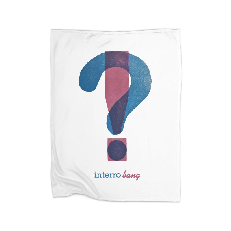 interro bang Home Fleece Blanket Blanket by NOLA 'Nacular's Shop
