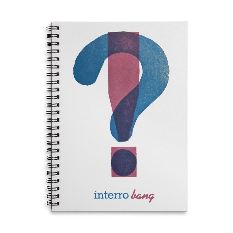interro bang Accessories Notebook by NOLA 'Nacular's Shop