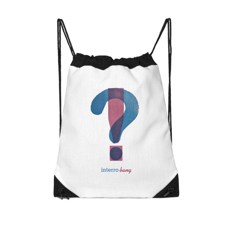 interro bang Accessories Drawstring Bag Bag by NOLA 'Nacular's Shop