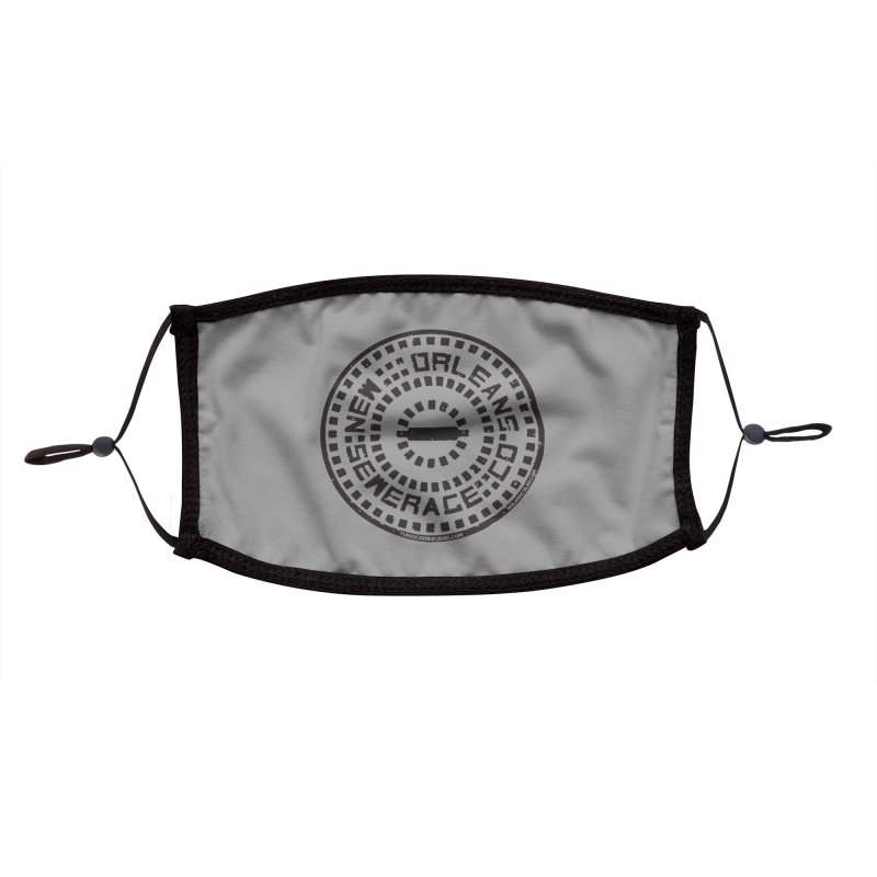 New Orleans Sewerage Co. Accessories Face Mask by NOLA 'Nacular's Shop